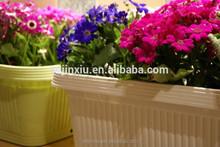 Very Durable garden Plastic Flower Vase with Holder pots