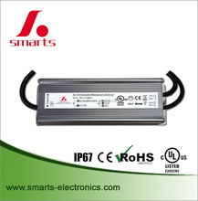 waterproof 60W 0-10v Dimmable LED Driver 12v constant voltage transformer with CE/UL