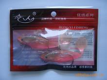 Reusable Mylar ziplock Bag with hange Hole for Fish Bait