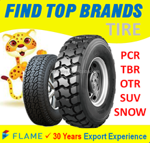 Manufacture brand BEARWAY tire TBR Truck tire and PCR Car tire from 12 inch to 24 inch