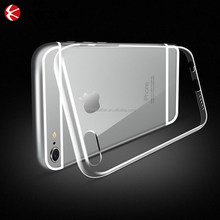 metal aluminium case hard case for apple iphone 6 , pc + metal 2in1 case for apple iphone6