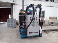 DCPD plastic injection molding machine price for filter plate