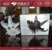 High performance 5AXIS cnc water jet for metal ISO9001