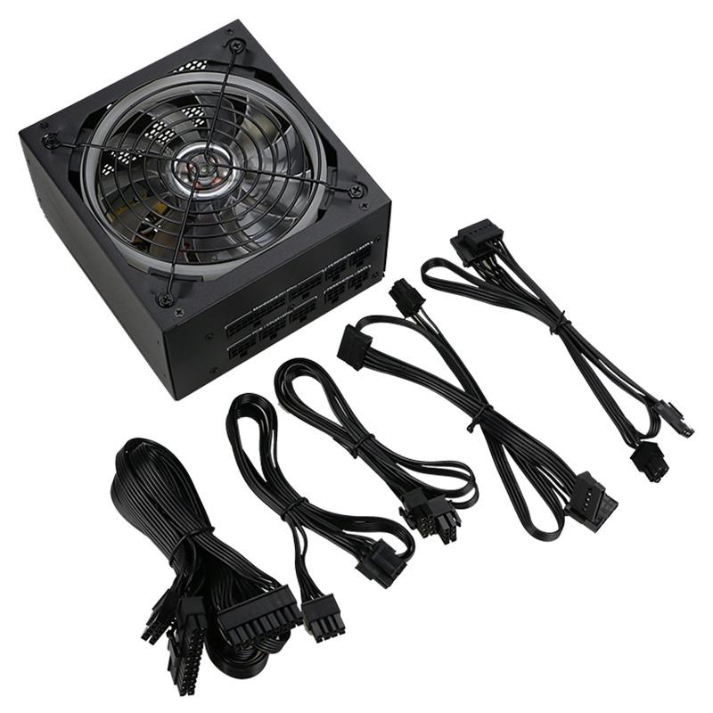 Fabricante 750 W de alimentación ATX modular PSU para juegos de PC de escritorio