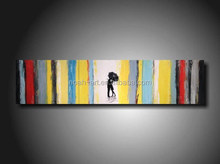 Decor Abstract Paintings with Human Figures Canvas Wall Art