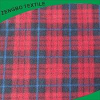 England Style polar fleece fabric for blanket,scarf,jacket