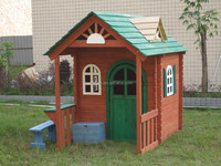 Outdoor Wooden Play House