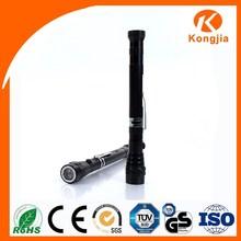 Promotional Gift Powerful 3 LED Aluminium Portable Flexible Magnetic Torch Flashlight Medic Pen Light