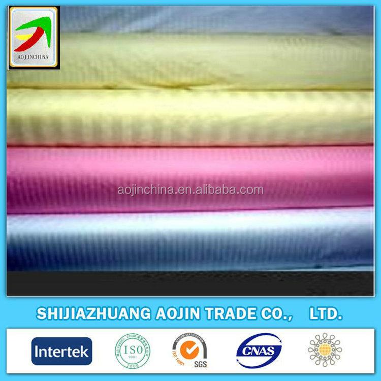 Trending produtos quentes 2015 branco tecido de cetim stripe alibaba dot com