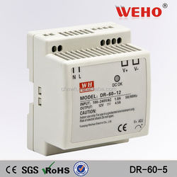 60w single output 5v din rail switching power supply