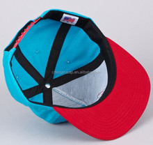 Custom made unstructured snapback caps,blank denim snapback