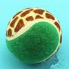 wholesale coloured tennis ball with custm logo