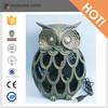 decorative resin owl usb desk min fan