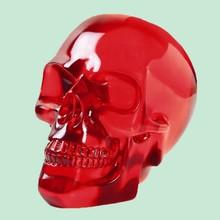 Wholesale Horrible Red Halloween Clear Resin Skulls