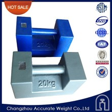 liyang 20kg blue single test weights, carrier weight, test weight for crane