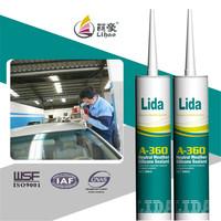 auto windshield glass silicone gasket sealant
