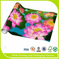 Printed Paper Wrapping Gift colorful roll wrapping paper with customized design