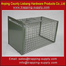 Metal Steel Cat Dog Pet Animal Transport Cage