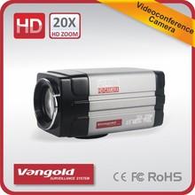 20x Zoom Box Video Camera auto focus f=4.7~94mm SDI and HDMI output