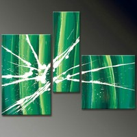 modern abstract paintings bamboo canvas decoration wall art