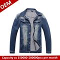 river road mangueira 2014 novo design de alta qualidade homens cowboy roupa casaco estilo jaqueta azul bonito casaco de manga longa para homens