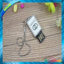 Custom metal clamshell packaging for memory card