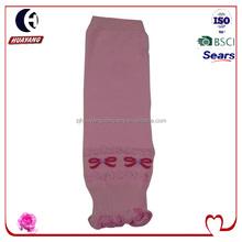 2015 most stylish children girls boots leg warmer with tie