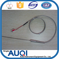 With u shape connector b/s/r type thermocouple, with spring flexible thermocouple, R/S/B type generator temperature sensor