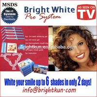 TOOTH WHITENER SET BLEACHING TEETH BLEACH WHITENING KIT WHITE EASY