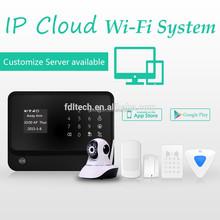 New 2015 wireless wifi ip camera include water detector smoke detector Motion sensor