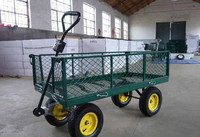 tralier garden tool metal utility cart