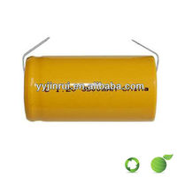 Environmental aa 600mah 1.2v ni-cd rechargeable battery