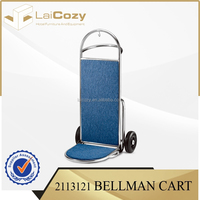 High quality hotel furniture used for hotel luggage cart / luggage cart for hotel from Zhuhai supplier