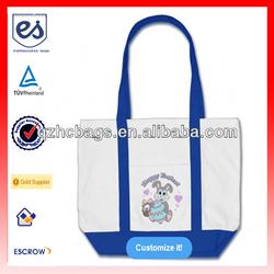 Hoppy Easter! Customized Easter Bunny Tote Bag (ESC-HB023)