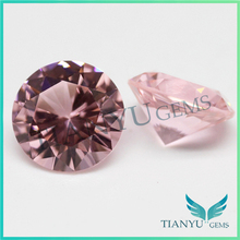6.mm Round Brilliant cut A975 Pink Synthetic Gem Stone To Make Earrings