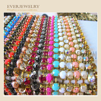 resin or rhinestone cup chain rhinestone chains for shoes boots decoration