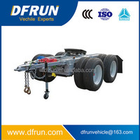 high quality semi trailer dolly for sale / truck trailers dolly tow one axle or two three axle dolly are all available