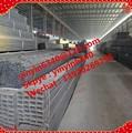 Negro / galvanizado tubo cuadrado / redondo tubos / rectángulo de tubos de acero y tubos