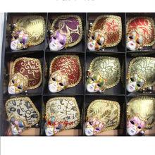 Wholesale fashion mini fridge magnet antique decorative wall masks