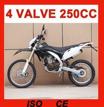 250cc dirt bike for sale cheap 4 valve 24HP(MC-685)