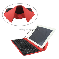 Tablet PC Accesories Utility PU Leather Cover with Keyboard for Apple iPad Pro 12.9 inch