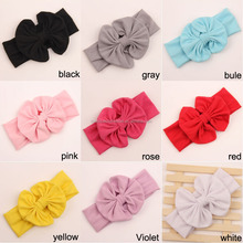 Hot sale fashion baby girls headband bow hair accessories cheap wholesale hair accessories