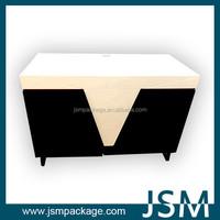 JSM MDF boards promotion display showing desk 2015
