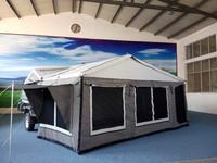 Aussie style 7x4 small camper trailer 4x4 tent