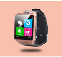 Aesthetic appearance professional GV08 pc world smart watches with free cellphone holder