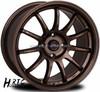 new style 17 inch alloy wheel rim 4hole spoke wheel rim concave wheels