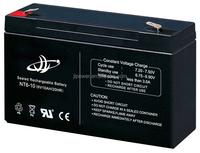 6v 10ah battery lamp, usag mini rechargeable battery 6v 10ah mini solar cell.
