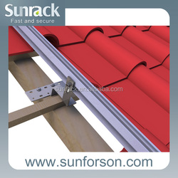 Residential home application solar roof top brackets