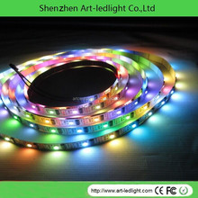black pcb ws2801 WS2801 digital LED stripfor building,store, shop, display light WS2801 digital LED strip