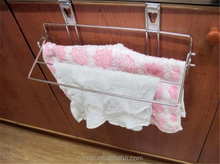 Door Hook Holder Kitchen Towel Dry Hanger Sink Folding Shelf